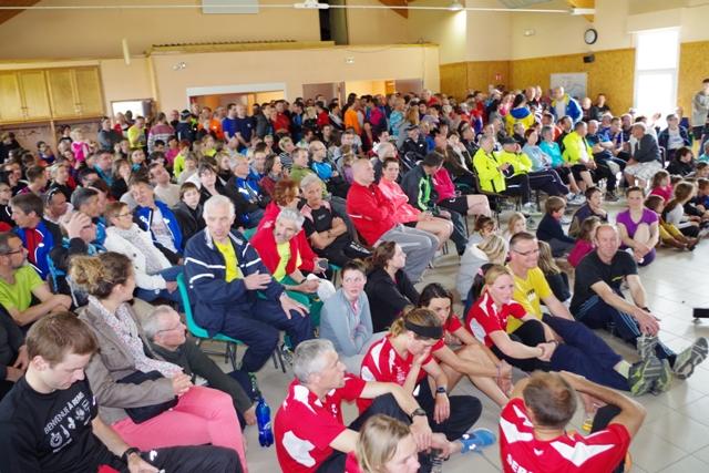 Podium des 10km d'Avaux 2014